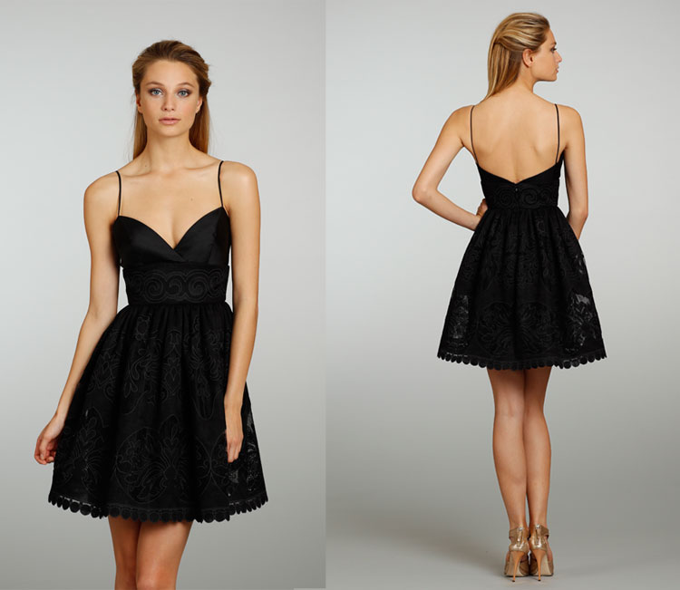 Short Sweetheart Dress with Straps